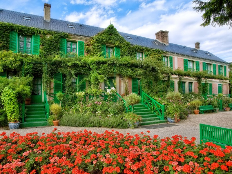 Fondation Claude Monet bnb chambres dhotes hotels