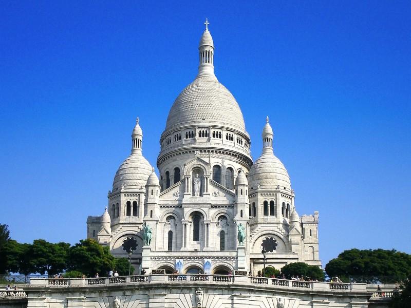 basilique du sacré coeur de Montmartre bnb chambres dhotes hotels