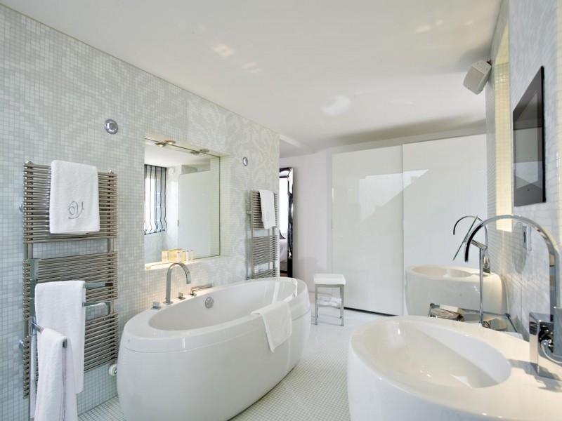 domaine de verchant hotel chambres 8 salle de bain
