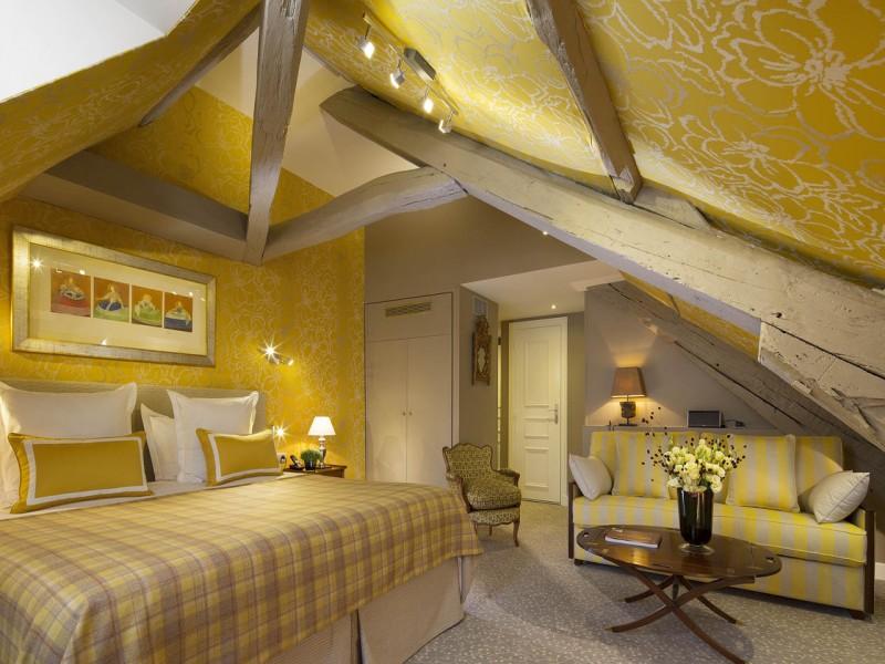 le relais des halles hotel chambres 6 chambre 1 mansardée