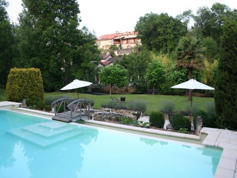 Le Moulin du Roc hotel chambres 3 piscine