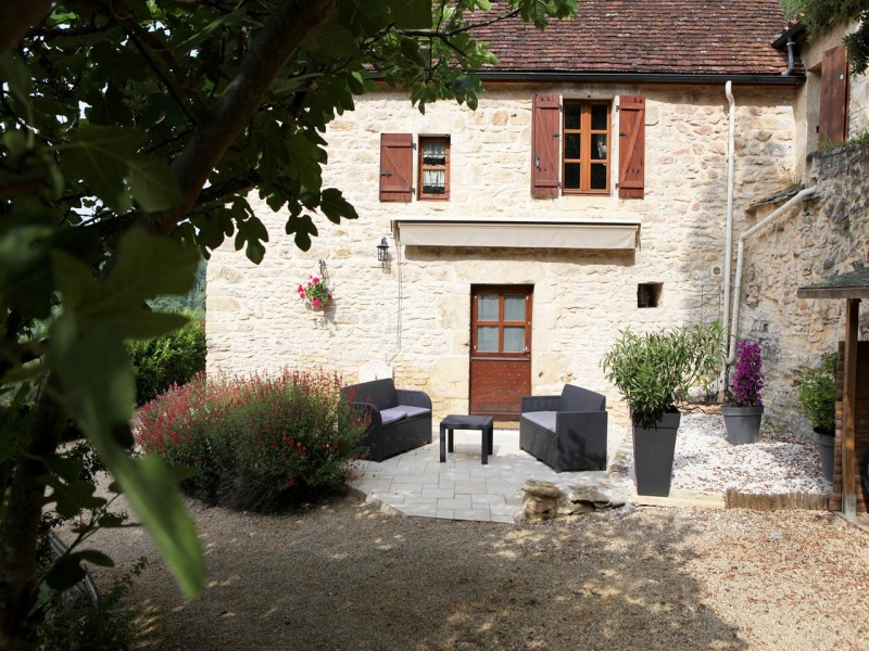 Hauts de Gageac bnb chambres dhotes 4 salon de jardin