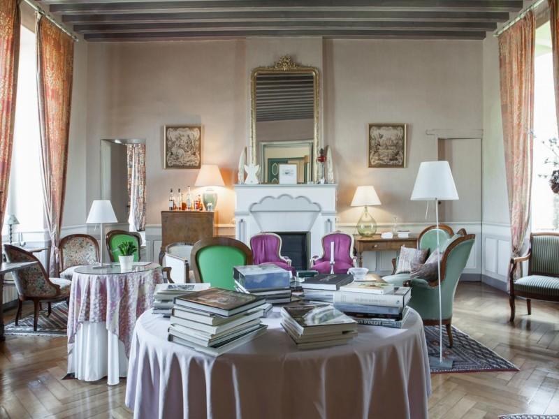 chateau des salles bnb chambres dhotes 4 salon