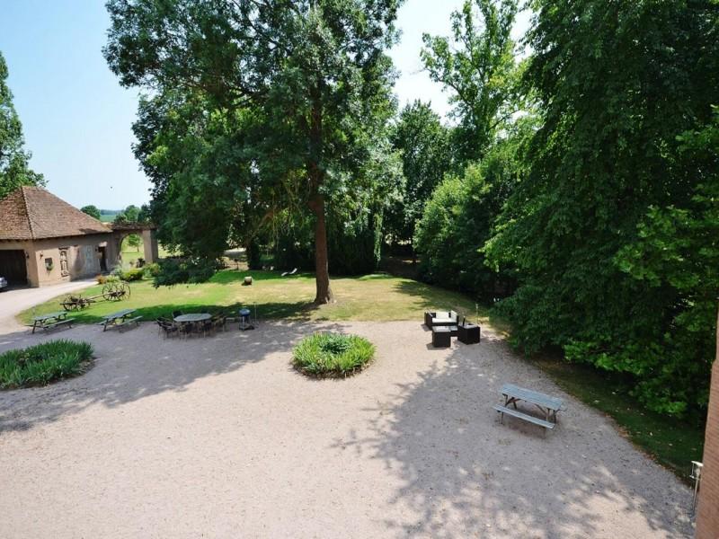 Château De Grunstein bnb chambres dhotes 2 jardin