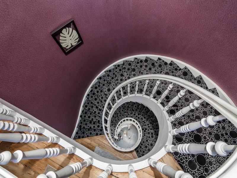 maison du champlain bnb chambres dhotes 4 escalier