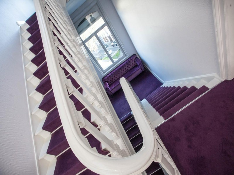 lesplanade lille bnb chambres dhotes 3 escalier