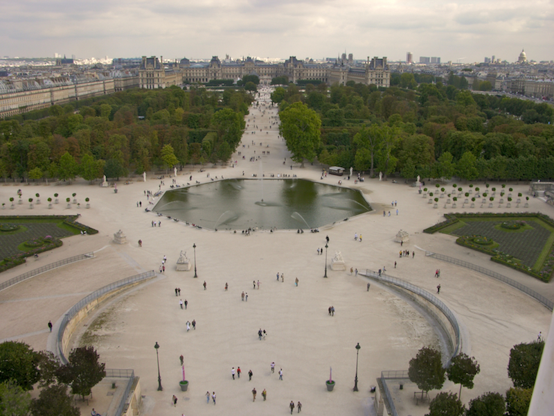Jardin des Tuileries bnb chambres dhotes hotels